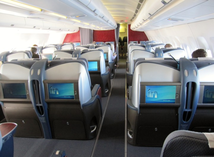 LAN Chile business class