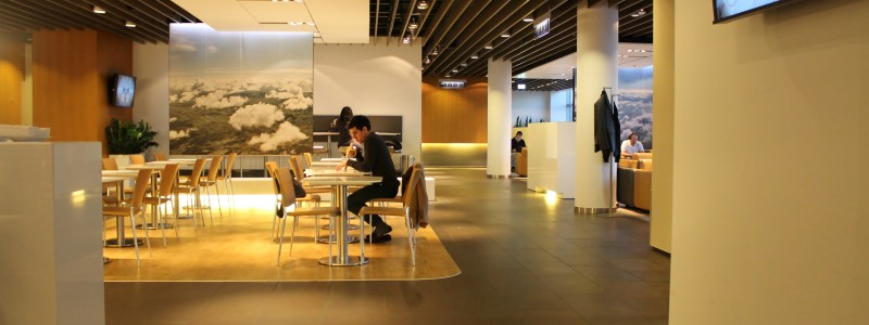 Lufthansa Business Lounge, Frankfurt, Terminal 1 Gate A26
