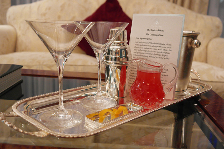 The Goring London - The Cocktail Hour - not to be missed!