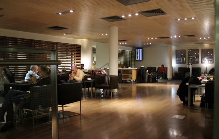 Star Alliance Business Lounge, London Heathrow