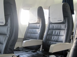 Air Baltic Business Class seat Dash-8