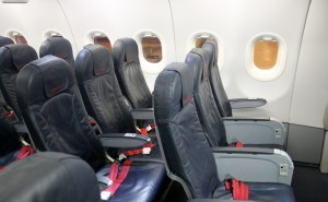 Air Berlin Economy Class seat Airbus A320