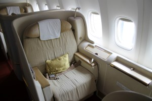 Air India First Class seat Boeing 777