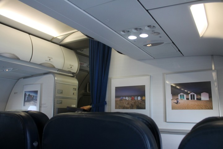 British Airways Business Class Club Europe Cabin Airbus A320