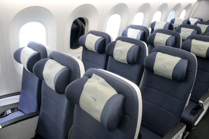 British Airways Economy Class World Traveller Seat Boeing 787 Dreamliner