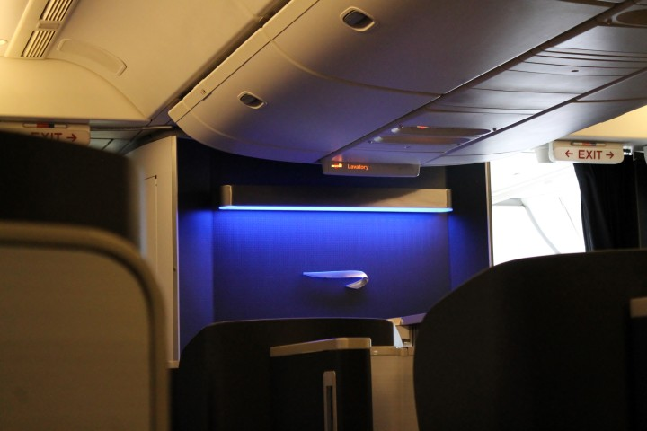 British Airways First Class cabin Boeing 777