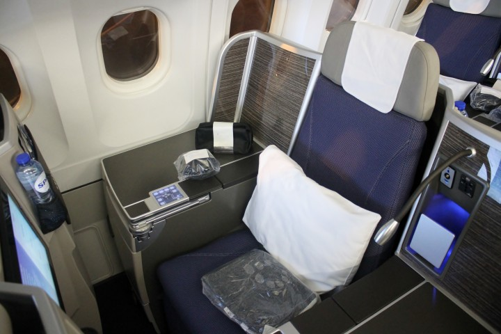 Brussels Airlines Business class b.business seat Airbus A330