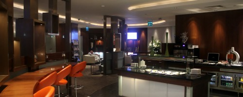Etihad First & Business Lounge, Abu Dhabi, Terminal 1