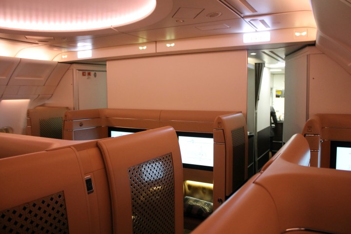Etihad First Class Diamond First cabin Airbus A330