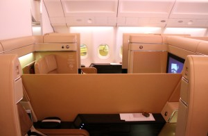 Etihad First Class Diamond First seat Airbus A330