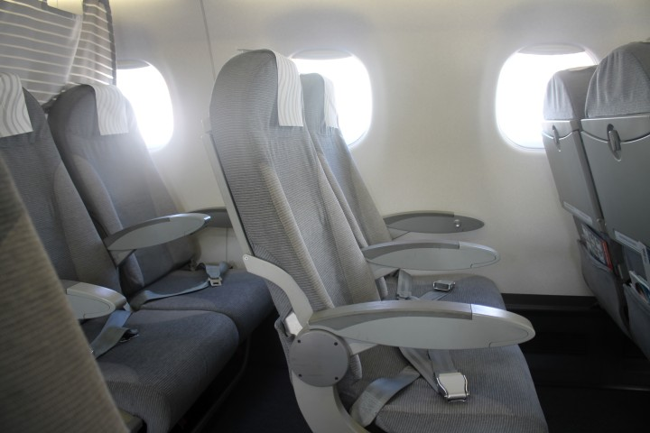 Finnair Business Class seat Embraer 170