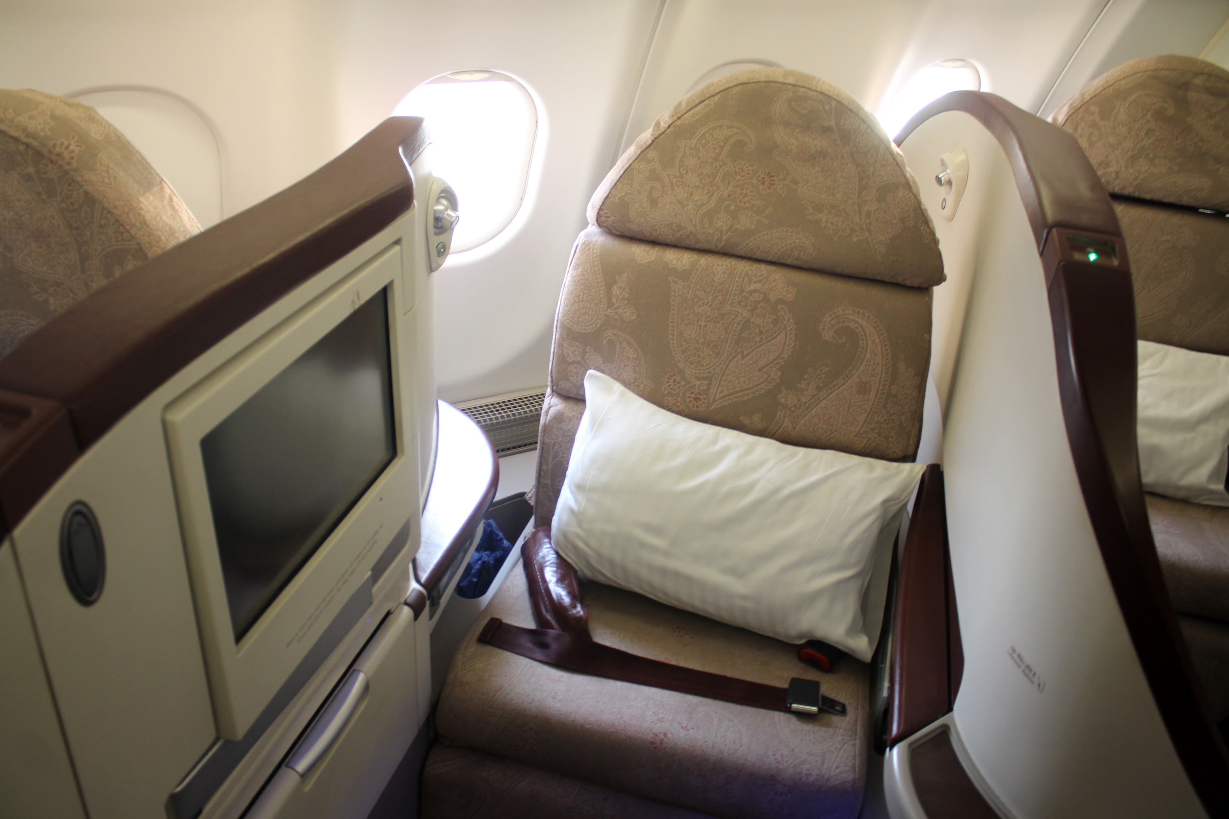Test: Jet Airways Business Class (Première) Singapore ...