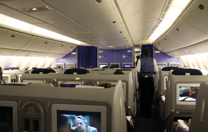 KLM Business Class cabin Boeing 777