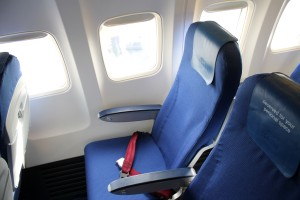 KLM Business Class seat Boeing 737
