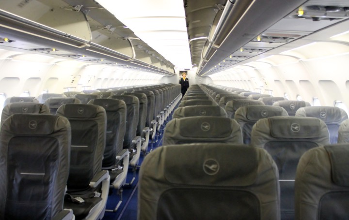 Lufthansa Economy Class Cabin Airbus A320