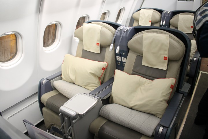 Royal Jordanian Business Class Crown Class seat Airbus A330
