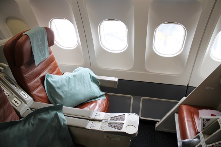 SriLankan Business Class seat Airbus A330