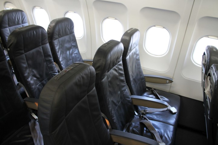 Swiss Economy Class seat Airbus A320