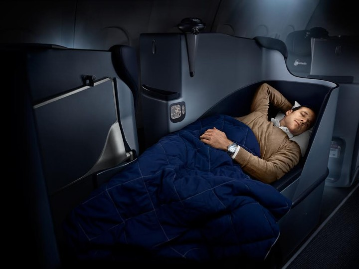 Air Berlin fully flat business class