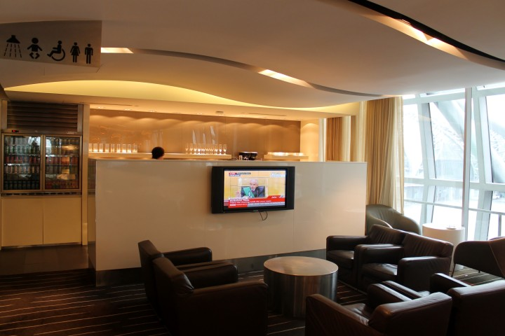 British Airways/Qantas First Class Lounge, Bangkok