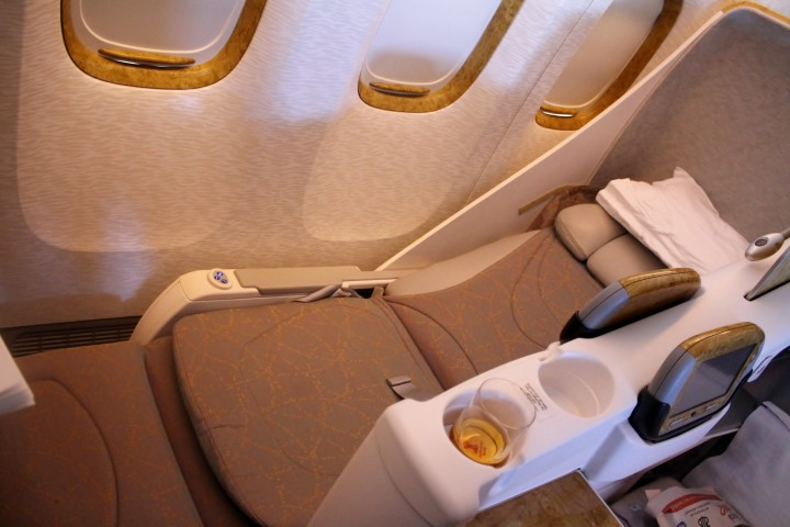 Emirates Business Class Stockholm-Dubai