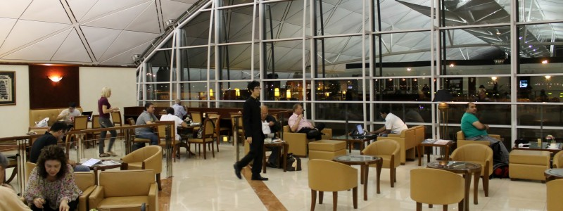 Emirates Lounge, Hong Kong