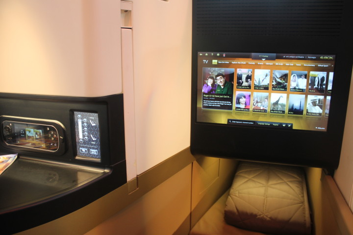 Etihad Business Studio screen