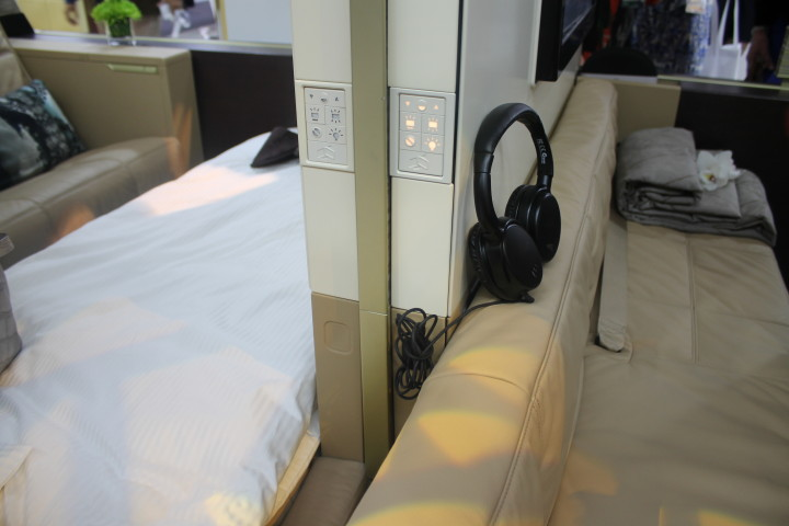 Etihad First Apartment divider