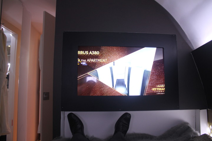 Etihad The Residence screen in bedroom 2