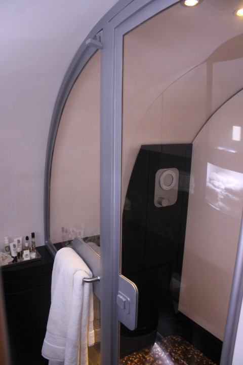 Etihad The Residence shower
