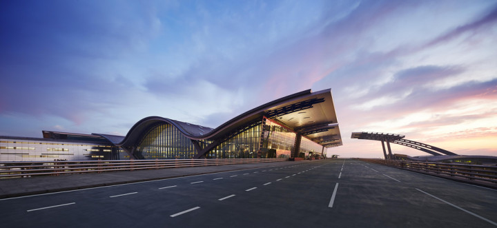 Terminalen Doha Hamad International Airport
