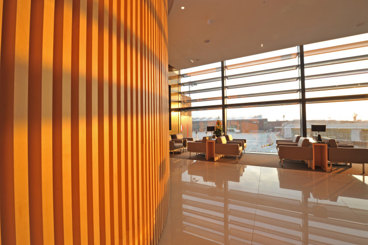 Air Canada nya Maple Leaf Lounge London Heathrow