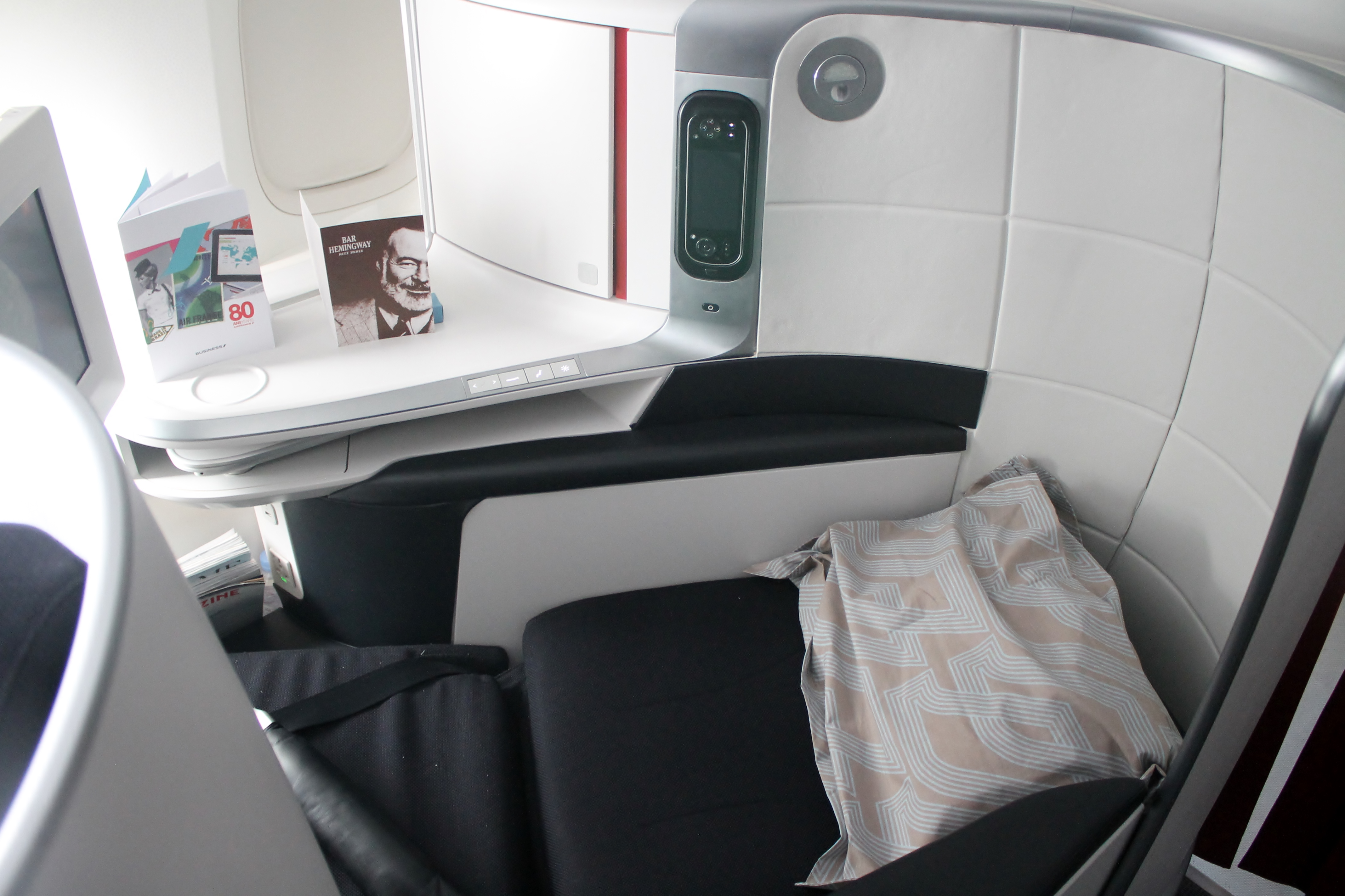 Review Air France S New Business Cl The Inaugural