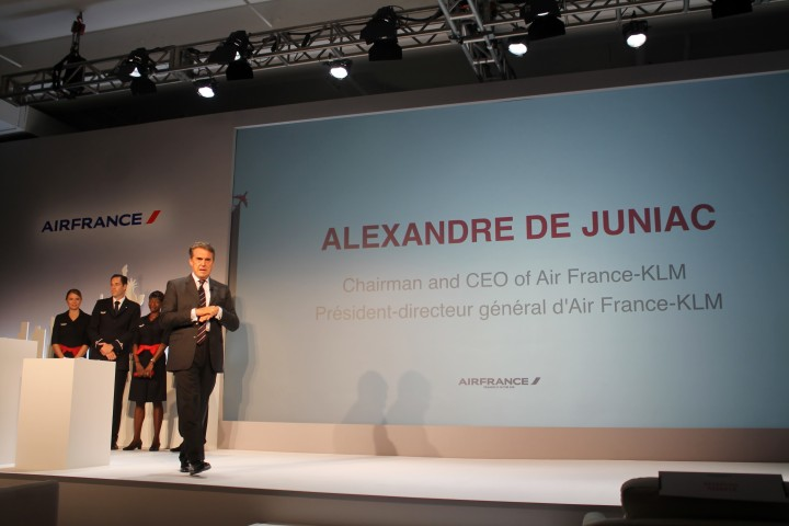 Alexandre de Juniac - VD för Air France & KLM