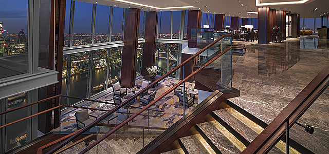 Shangri-La Hotel At the Shard London Events Lobby