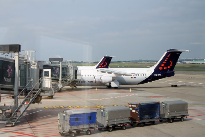 Brussels Airlines Business Class (b.business) Bryssel-Stockholm