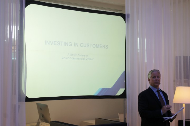 Allister Paterson, Chief Commercial Officer Finnair