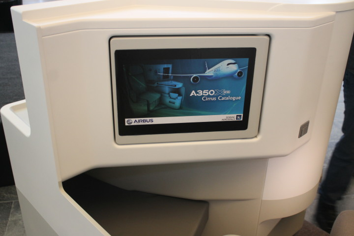 Finnairs nya business class Airbus A350