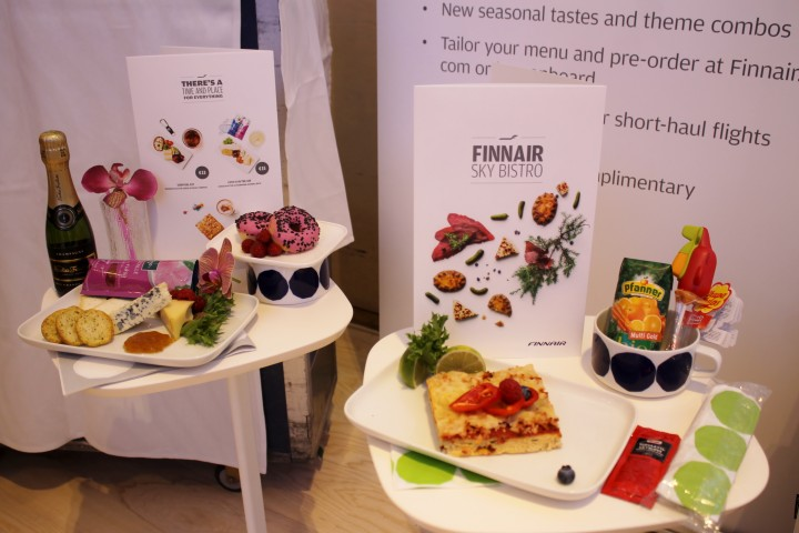 Finnair new catering