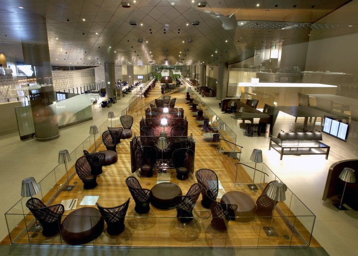Qatar Airways Al Mourjan Business Lounge, Doha