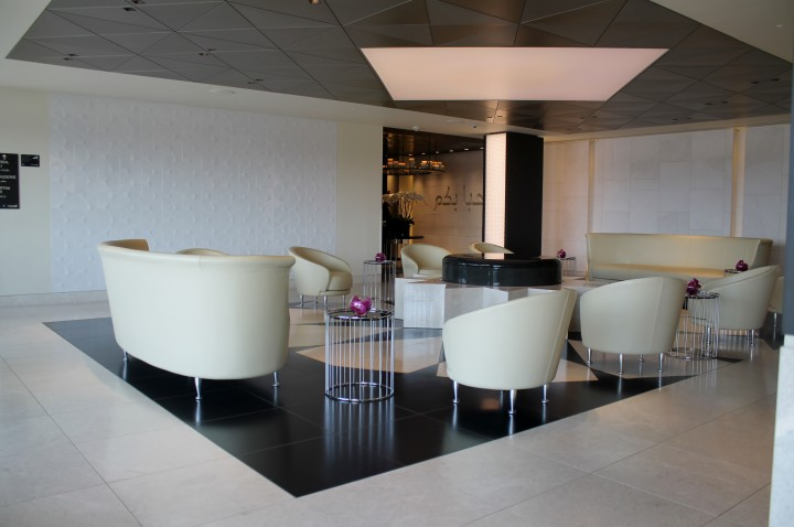 Qatar Airways Premium Lounge, London Heathrow