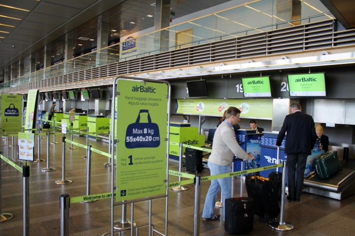 Air Baltic Business Class Riga-Bryssel