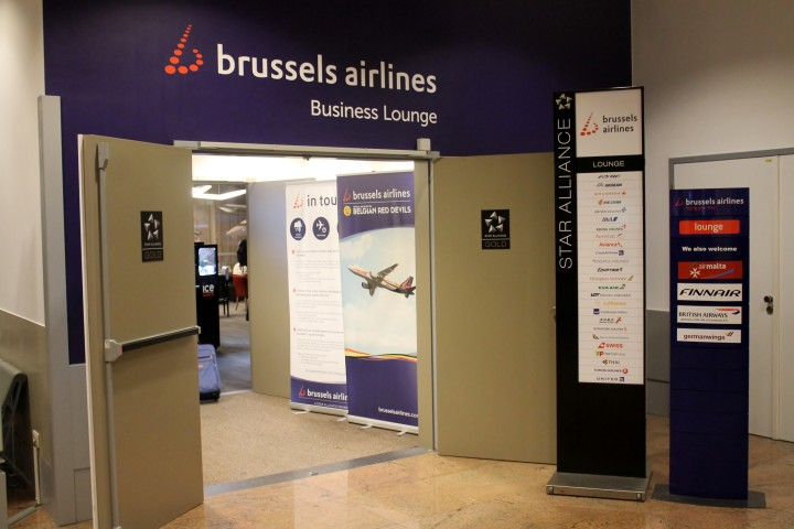 Brussels Airlines Lounge Bryssel