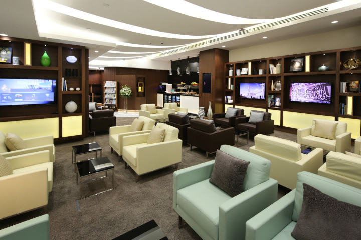 Etihad Airways Arrivals Lounge Abu Dhabi