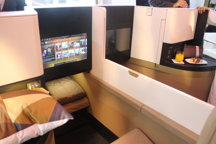 Etihad Business Studio Airbus A380