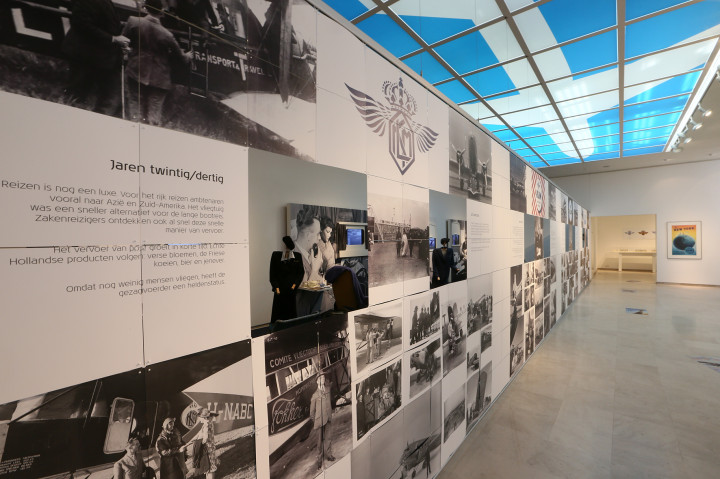 KLM 95 years exhibition Amsterdam
