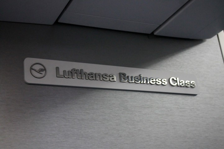 Lufthansa Business Class Frankfurt-Stockholm
