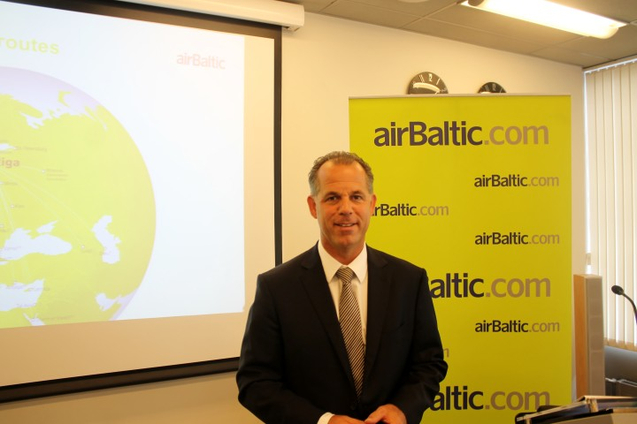 Martin Gauss CEO Air Baltic