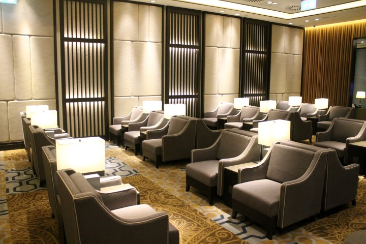 Plaza Premium Lounge, London Heathrow Terminal 2 01