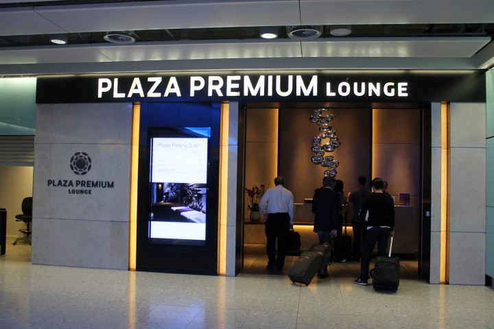 Plaza Premium Lounge, London Heathrow Terminal 2